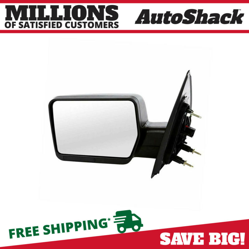 $43.91 • Buy Black Power Driver Left Folding Side View Mirror For 2004-2008 Ford F-150