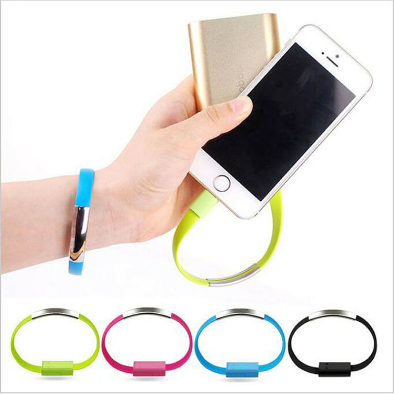 $1.59 • Buy US Bracelet Flat Wire USB Charger Cable Charging Data Cord For IPhone X 8 7 6