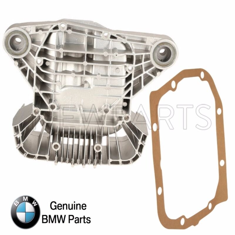 $189.35 • Buy For BMW E46 M3 01-06 Rear Differential Cover W/ Mounts & Gasket Genuine