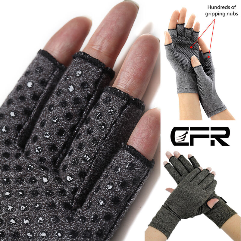 Compression Arthritis Gloves For Computer Typing Hands And Joints Support SML • 7.99$