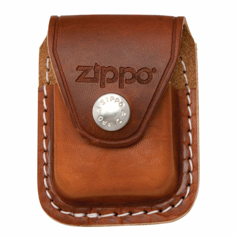 $9.60 • Buy Zippo Lighter Pouch With Clip Brown Leather (LPCB)