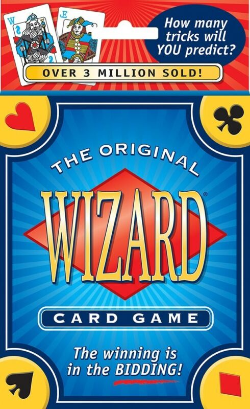 The Original Wizard Card Game USGS - 60 Card Deck, Instructions & Score Pad -New • 10.99$