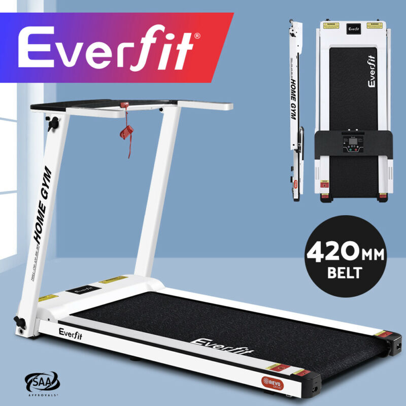 AU289.90 • Buy Everfit Electric Treadmill Home Gym Exercise Machine Fitness Equipment Compact