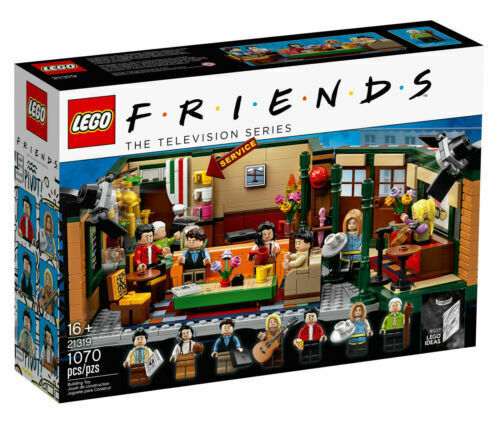 $68.99 • Buy Lego Friends Central Perk Cafe Ideas 25th Anniversary Set #21319 Ready To Ship