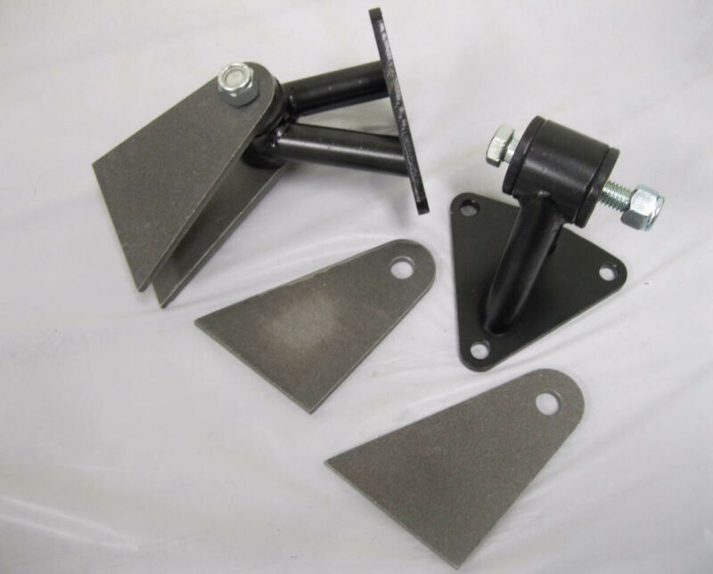 Small /& Big Block Chevy Weld in Street Rod Engine Motor Mounts Kit STAINLESS