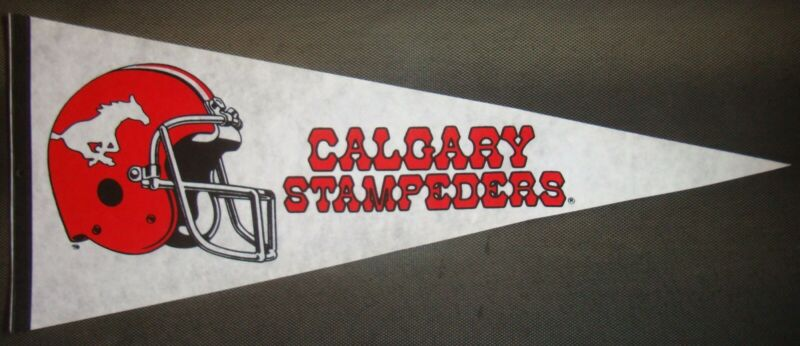 $9.99 • Buy Calgary Cowboys ~Canadien Football (CFL) ~Officially Licensed Football Pennant