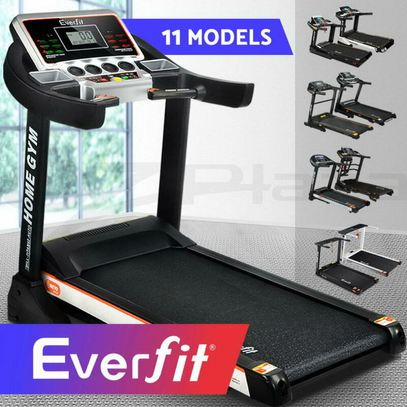 AU319.90 • Buy Everfit Electric Treadmill Auto Incline Home Gym Exercise Run Machine Fitness