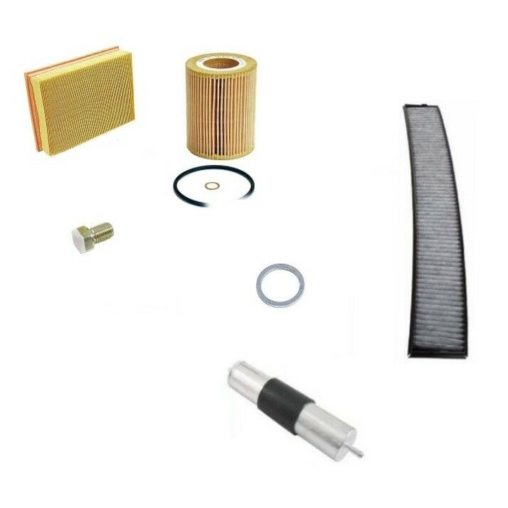 $61.92 • Buy BMW E46 1999 2000 Oil Filter, Air Filter, Gas Filter, Cabin Filter Kit