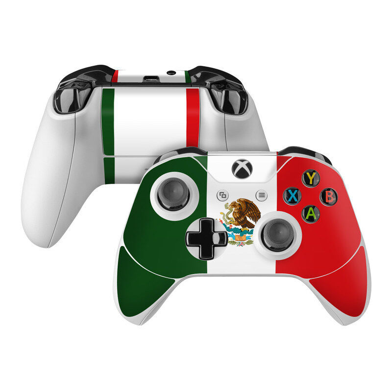 $7.99 • Buy Xbox One S Controller Skin Kit - Mexican Flag By Flags - DecalGirl Decal