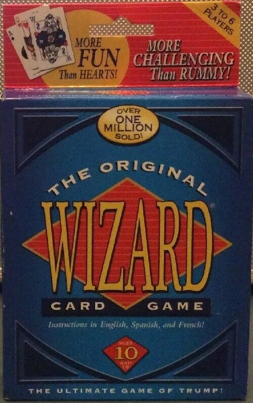 The Original WIZARD Card Game Brand New More Fun Than Hearts! • 9.50$
