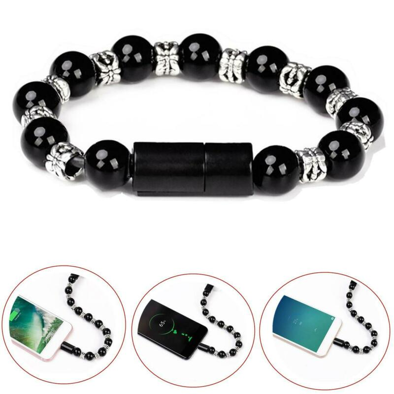 $2.69 • Buy USB Cable Bracelet Wristband Charger Charging Data Cord For Cell Phone Sync