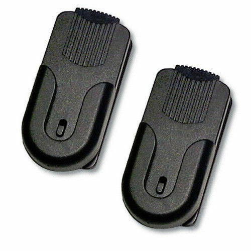 2 X Pack Belt Clip Mount GARMIN RINO 110 120 130 520 530 ASTRO Golf Range GPS • 8.99$