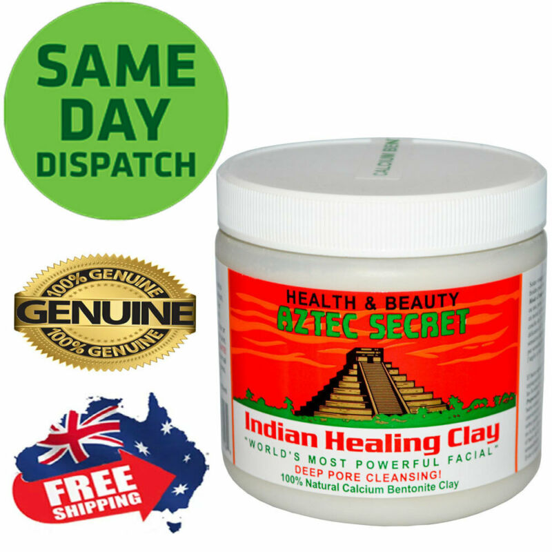 AU23.95 • Buy Aztec Secret Indian Healing Clay Facial Deep Pore Cleansing Mask 454g Genuine