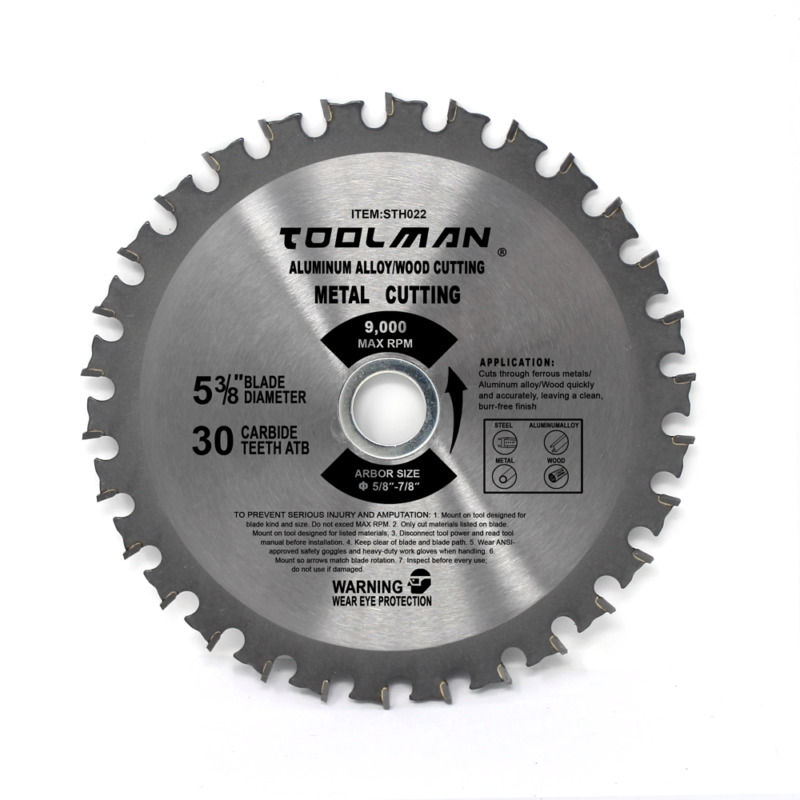 High Quality Made 5-3/8  30T Finish Blade Can Cutting Metal,Wood,Aluminum,Steel • 11.99$