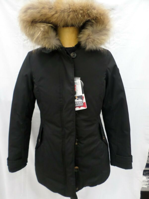 reputable site 0328b 56fad Woolrich Donna Nero