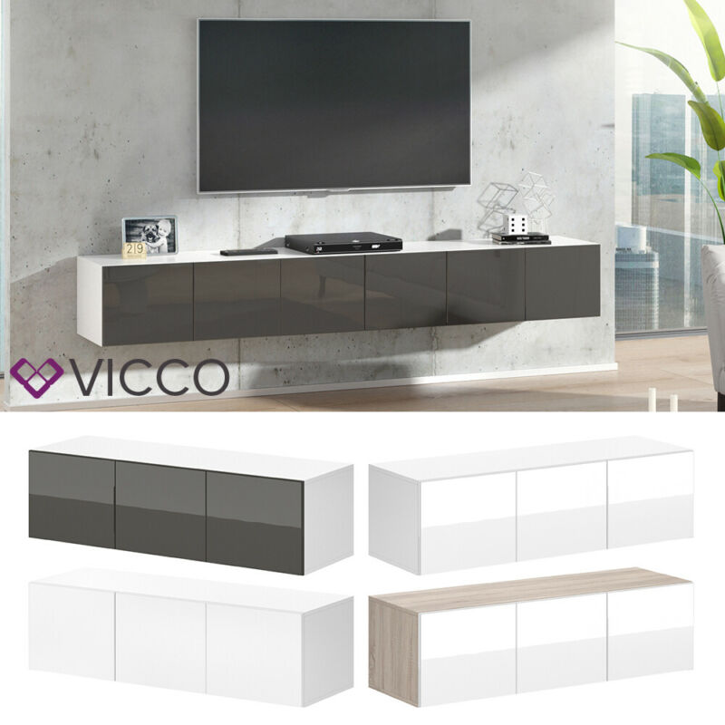 tv board lowboard h ngend kaufen zum besten preis. Black Bedroom Furniture Sets. Home Design Ideas