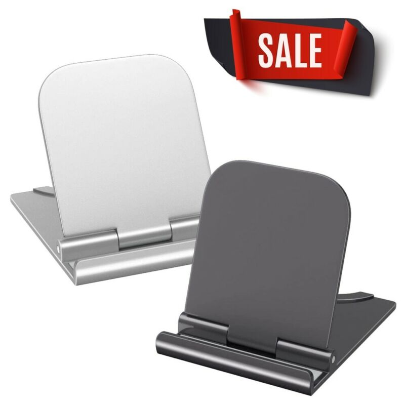 $4.25 • Buy Foldable Cell Phone Desk Stand Holder Mount Cradle For IPhone Samsung Tablet US