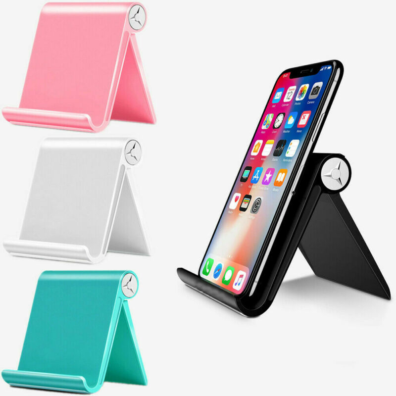 $5.96 • Buy Adjustable Portable Desktop Stand Desk Holder For Tablet/Cell Phone/iPad/iPhone