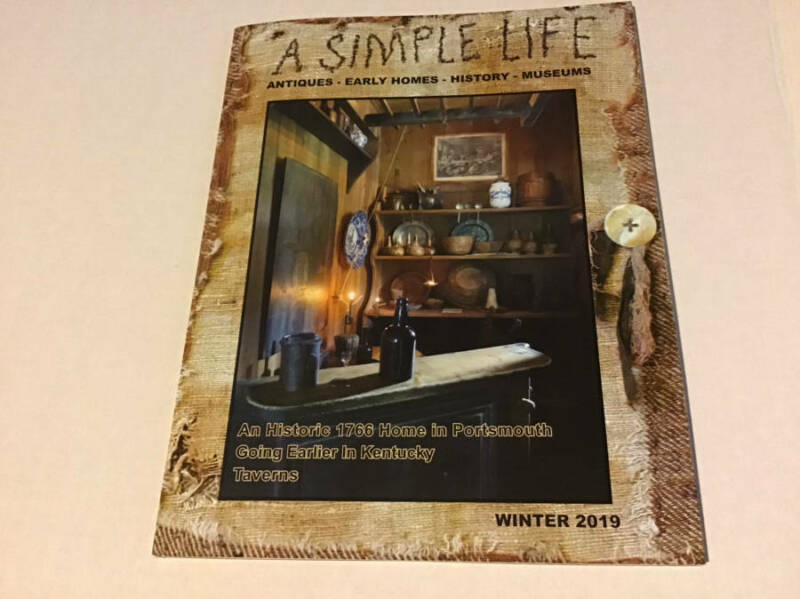 $12.75 • Buy - A Simple Life Magazine By Jill Peterson - Winter 2019 -