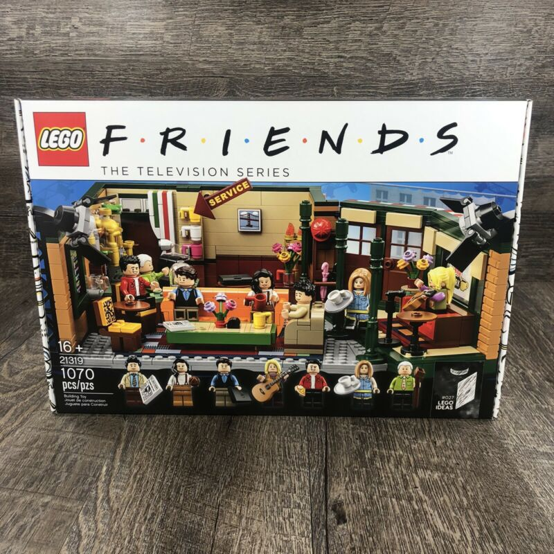 $89 • Buy Lego Friends Central Perk 21319 Brand New IN HAND *Fast Shipping*