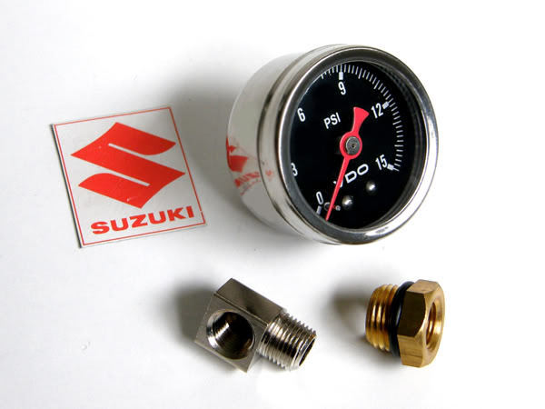 Suzuki Gs1100 Gs1000 Gs850 Gs750 Gs650 Guage Engine Motor OIL PRESSURE GAUGE KIT • 55.99$