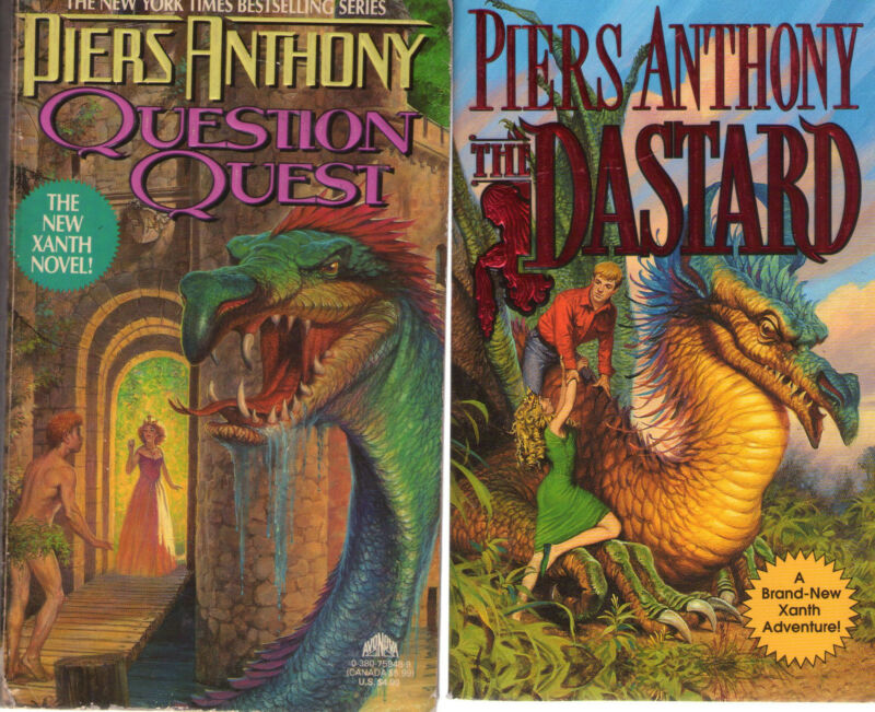 Nearly Complete Set Series - Lot Of 37 Xanth Books By Piers Anthony Puns #1-37 • 189.99$