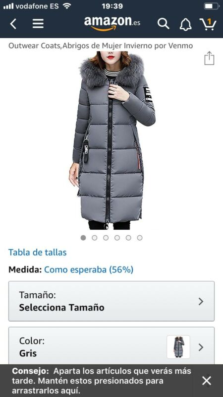 mejor sitio web dc1d1 92587 geographical norway mujer parka