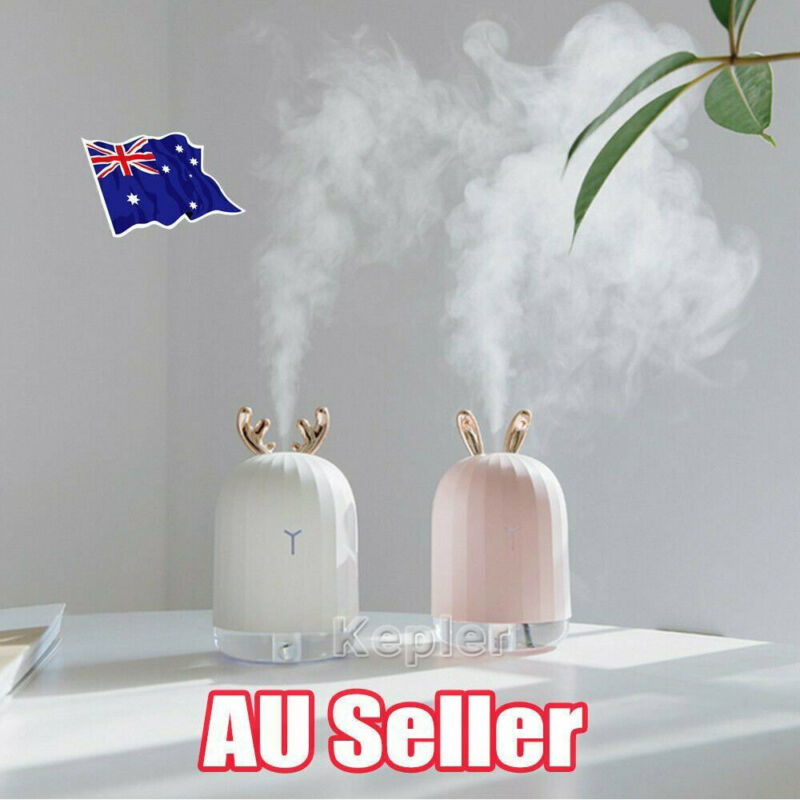 AU14.79 • Buy USB Ultrasonic Air Humidifier Essential Oil Aroma Diffuser Aromatherapy 7 LEDs