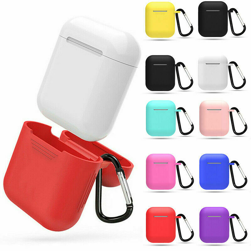 $ CDN1.53 • Buy AirPods Accessories Case Protective Silicone Cover Skin Strap For Apple Air Pod
