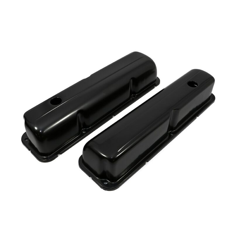 $26.99 • Buy 1957-1976 Ford FE Black Plated Valve Covers - 352 390 406 427 428 Big Block