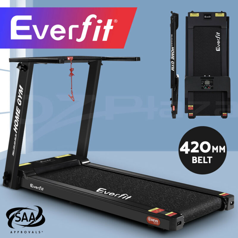 AU309.90 • Buy Everfit Electric Treadmill Home Gym Exercise Machine Fitness Equipment Compact