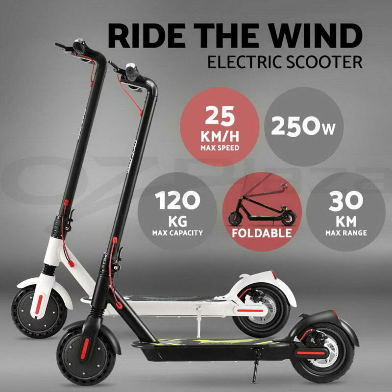 AU399.90 • Buy Electric Scooter Portable Foldable Commuter Bike Adult Kids LED Bike Waterpoof