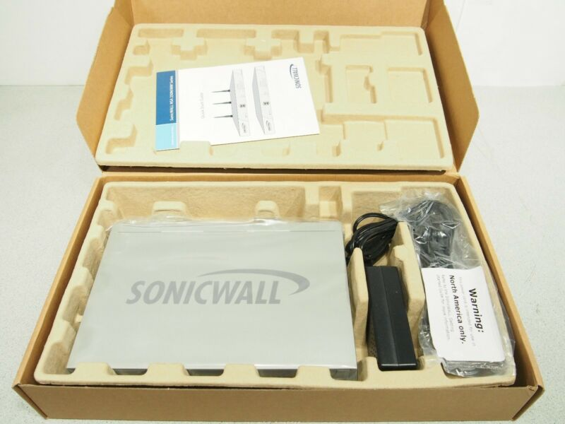 $95 • Buy New Sealed SonicWALL NSA220 01-SSC-4957 VPN Firewall Security Appliance