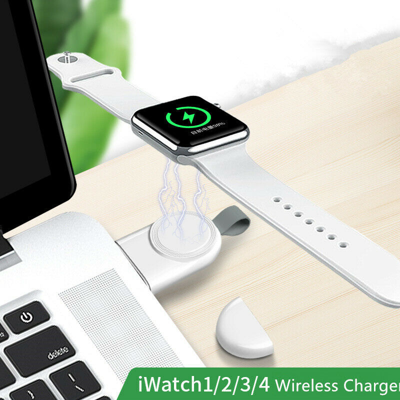 $ CDN6.03 • Buy For Apple Watch IWatch Series 1/2/3/4 Dock Adapter Charging QI Wireless Charger