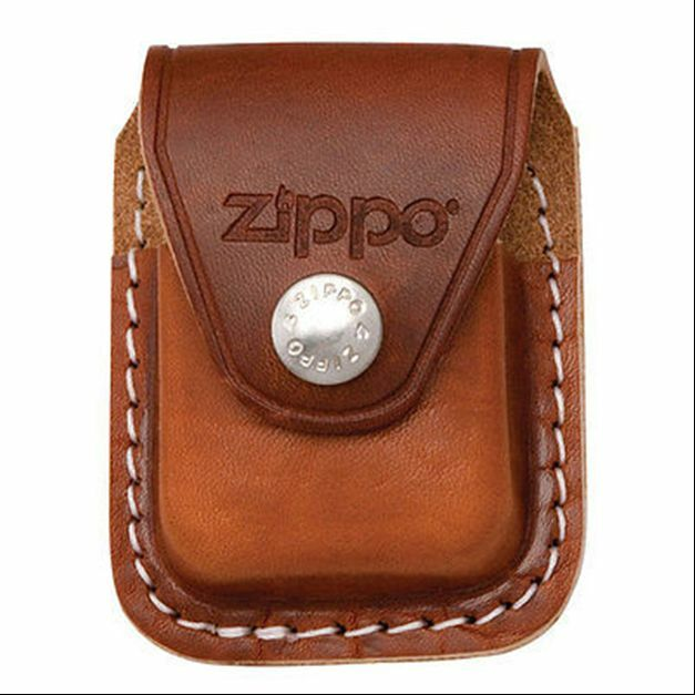 $9.25 • Buy Zippo Lpcb Brown RARE Lighter Pouch Clip Leather, New In Box
