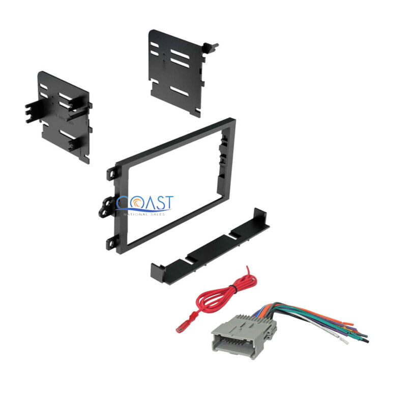 $14.95 • Buy Car Radio Stereo Double Din Dash Kit Wiring Harness For 1992-up GM Chevy Isuzu