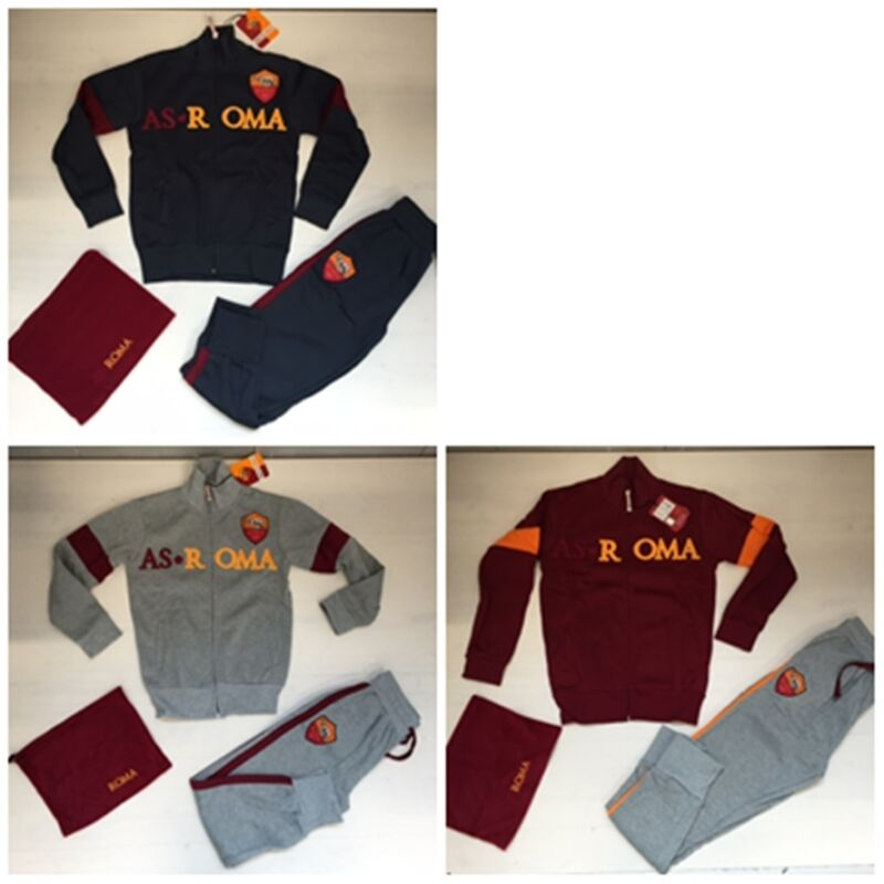2283f8b80e Fw15 As Roma Amistad Tuta Tracksuit Official Junior Bambino Felpata Fascia  Collo • 48.93€