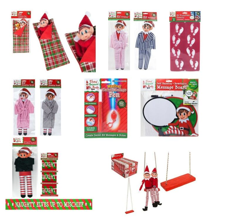 AU5.69 • Buy Elf Accessories Props Stock On The Shelf Ideas Kit Christmas Games Clothes Dolls
