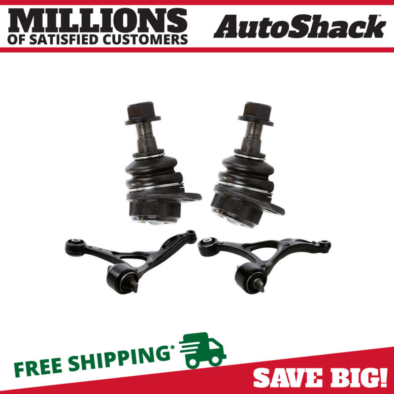 4pc Front Lower Control Arm Ball Joint Suspension Kit For 2003-2014 Volvo XC90 • 62.29$