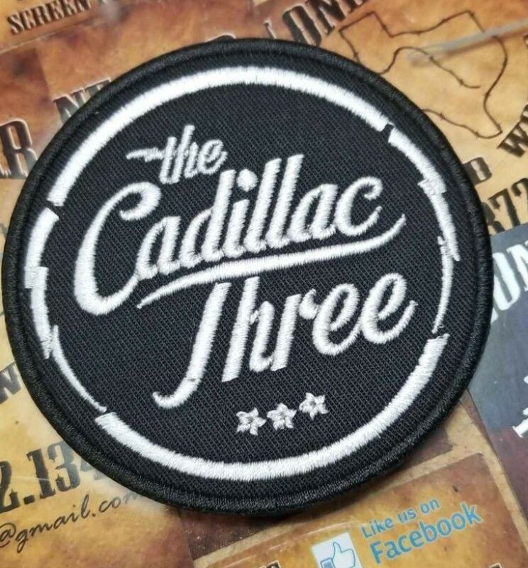 The Cadillac Three Patch • 7.25$