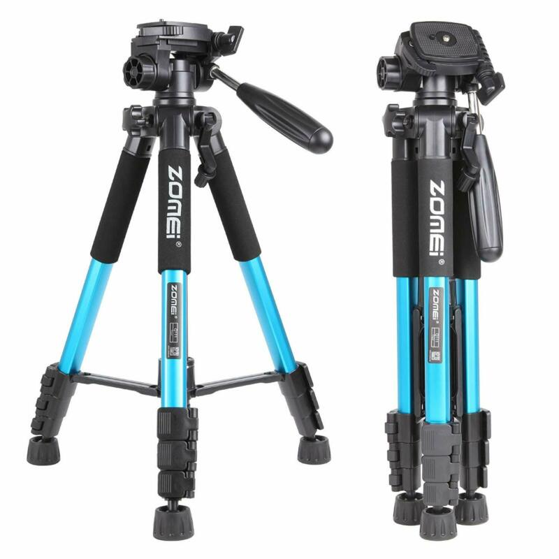 AU39.95 • Buy ZOMEI Q111 Aluminum Tripod Pan Head Travel Portable Kit For Nikon Canon Camera