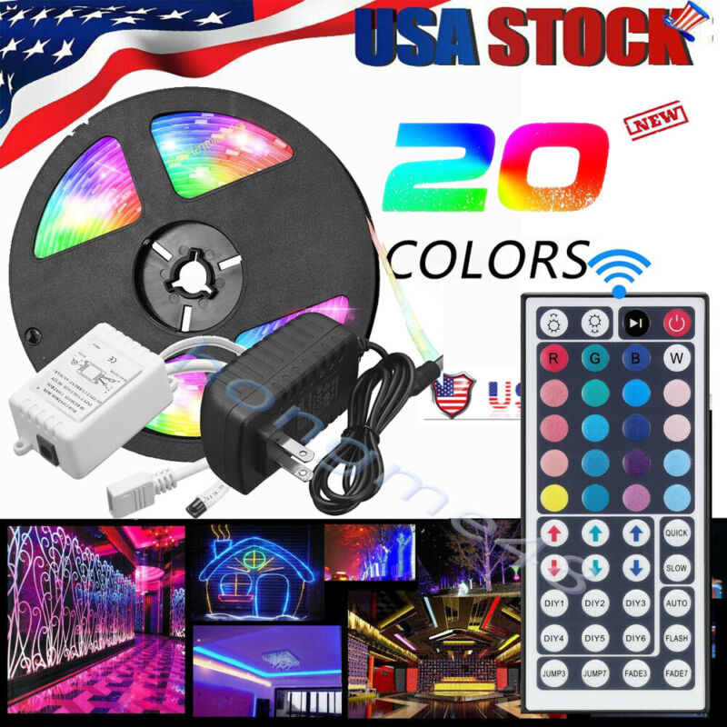 $12.99 • Buy The Original LED Room Lights Waterproof LED Strip Light | US STORE FREE SHIPPING