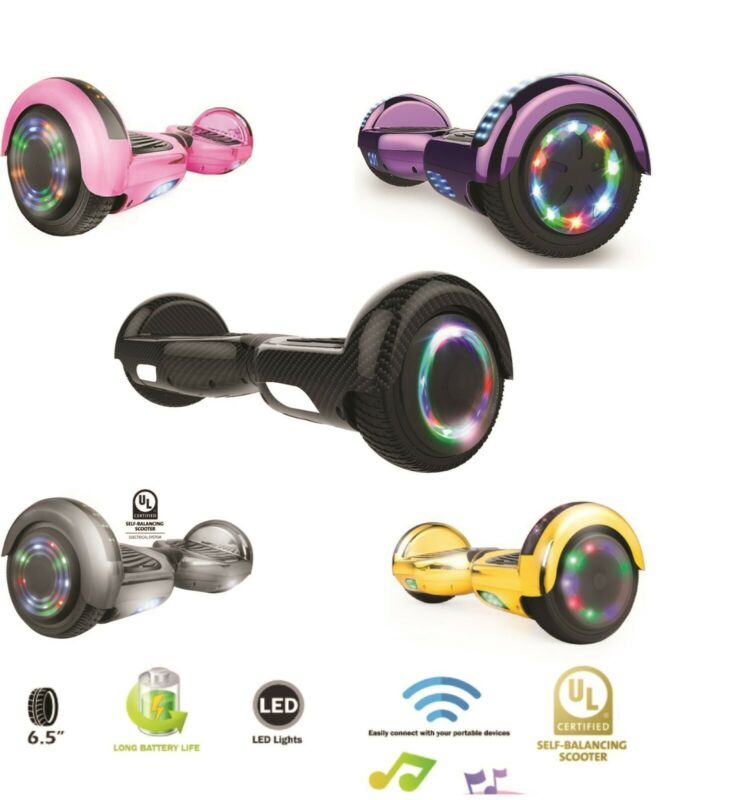 $ CDN249.99 • Buy Electric Motorized Scooter + Led Hoover Board UL Safe Bluetooth + LED Wheels
