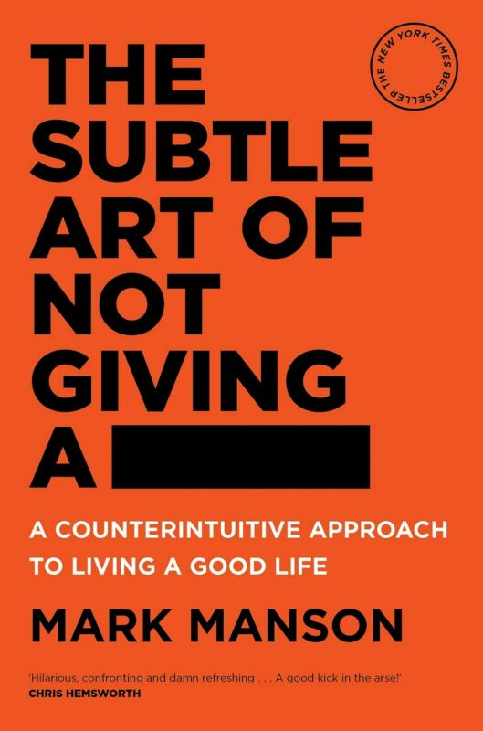 AU25.48 • Buy BRAND NEW The Subtle Art Of Not Giving A Fck F*ck F * Ck Fuck FAST FREE SHIPPING