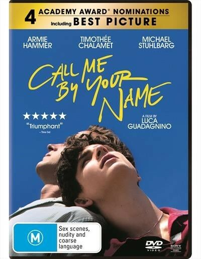 AU13.90 • Buy Call Me By Your Name : NEW DVD