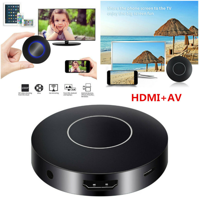 $ CDN28.50 • Buy Car Home Miracast Airplay HDMI+AV RCA TV WiFi Mirror Link Screen Video Dongle